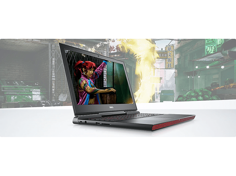 "DELL Inspiron 7567-228752 gaming notebook (15.6"" Full HD/Core i5/8 GB/256GB SSD/GTX1050 4GB VGA/Linux)"