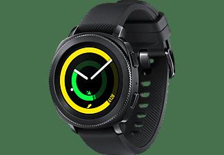 SAMSUNG  Gear Sport Smartwatch Silikon, S, L, Schwarz
