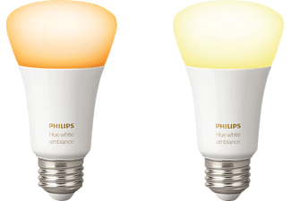 PHILIPS Hue White Ambiance, LED Leuchtmittel, 9.5 Watt
