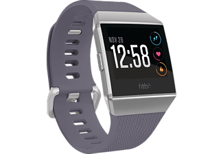 FITBIT Ionic, Fitness-Smartwatch, Elastomer, S/L, Blue-Gray/White