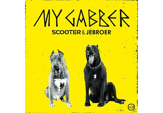 Scooter & Jebroer - My Gabber - (5 Zoll Single CD (2-Track))
