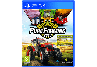 PS4 Pure Farming 2018 Day One Edition Simulation