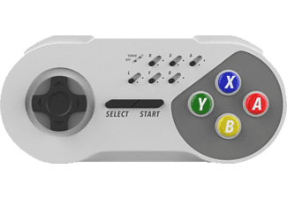 NORDIC GAME SUPPLY Wireless Turbo Controller , Gamepad, Weiß