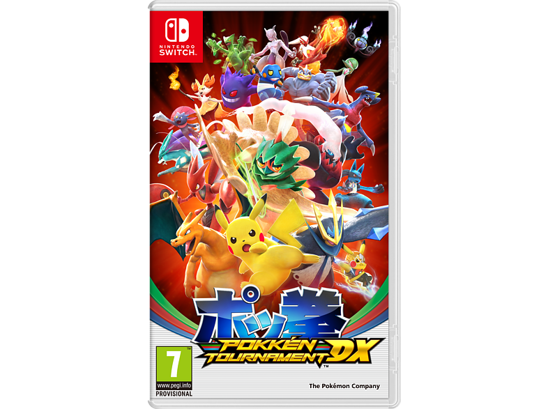 Pokken Tournament DX gaming games switch games