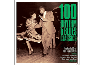 VARIOUS - 100 Rhythm & Blues Classics - (CD)