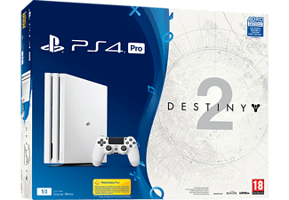 SONY PS4 Pro 1TB White + Destiny 2 Deluxe Edition