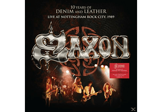 Saxon - 10 Years Of Denim And Leather-Live - (CD + DVD Video)