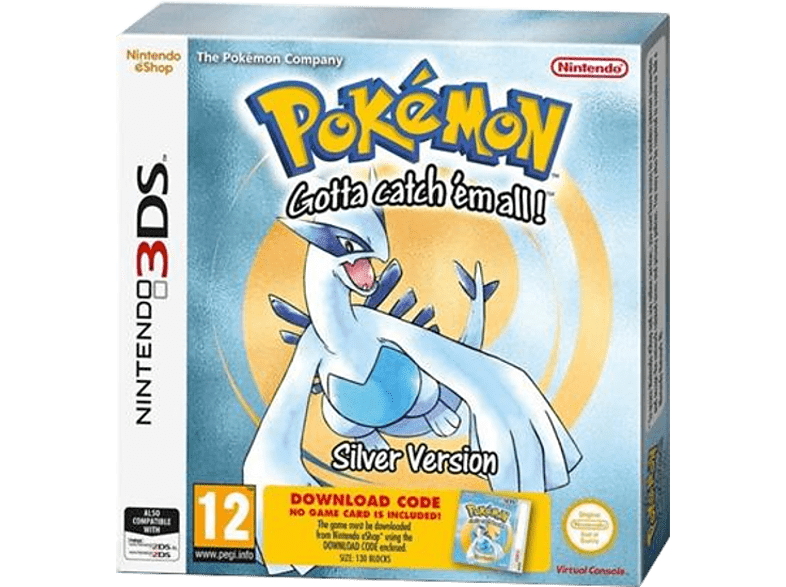 POKEMON SILVER (DCC) Nintendo 3DS gaming φορητές κονσόλες games 2ds  3ds