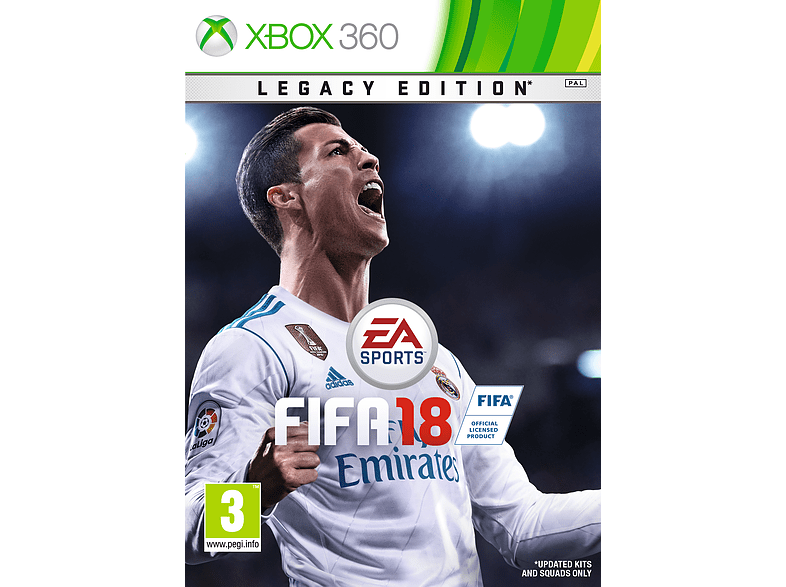 FIFA 18 Legacy Edition gaming games xbox 360 games
