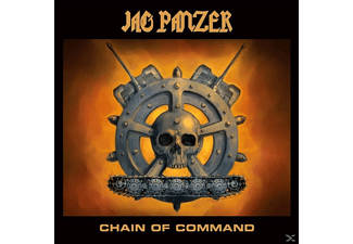 Jag Panzer - Chain Of Command (Transparent Ultra Clear Vinyl) - (Vinyl)