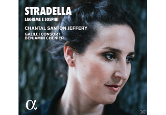 Chantal Santon Jeffery, Galilei Consort - Lagrime e Sospiri-Opern-& Oratorienarien - (CD)