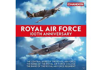 The Central Band Of The Royal Air Force, The Band of the Royal Air Force Regiment, Band Of The Royal Air Force College, Royal Air Force Squadronaires - Royal Air Force 100th Anniversary - (CD)