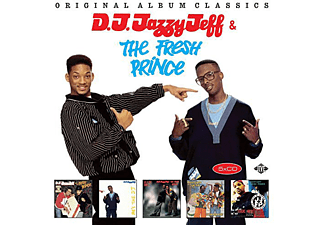DJ Jazzy Jeff & The Fresh - Original Album Classics (CD)