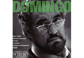 Plácido Domingo - Legendary performances - (CD)