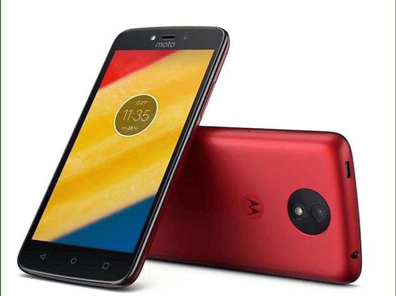 Motorola Moto C Plus piros Dual SIM kártyafüggetlen okostelefon