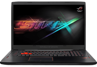 ASUS GL702VS-BA207T, Gaming Notebook mit 17.3 Zoll Display, Core™ i7 Prozessor, 16 GB RAM, 512 GB SSD, 1 TB HDD, GeForce GTX 1070, Schwarz