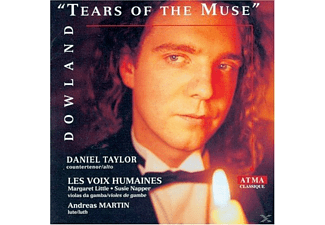 Daniel Taylor, Les Voix Humaines, Margaret Little, Susie Napper, Andreas Martin - Tears Of The Muse - (CD)