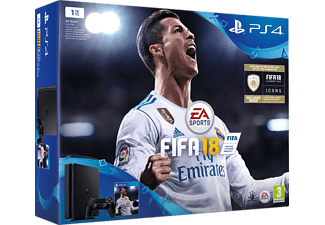 SONY PS4 1TB E Chassis + FIFA 18