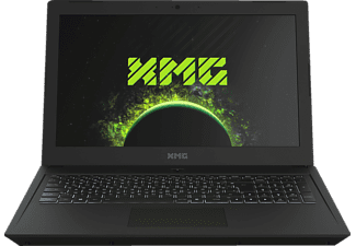 XMG CORE 15 - L17pnj, Gaming Notebook mit 15.6 Zoll Display, Core™ i7 Prozessor, 8 GB RAM, 500 GB SSD, GeForce GTX 1050 Ti, Schwarz