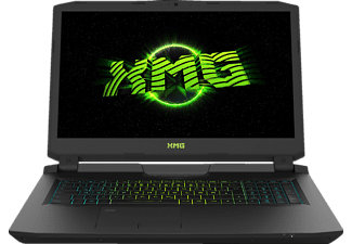 SCHENKER XMG U717 - xhm, Gaming Notebook mit 17.3 Zoll Display, Core™ i7 Prozessor, 16 GB RAM, 256 GB SSD, 1 TB HDD, GeForce GTX 1080, Schwarz