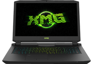 SCHENKER XMG U717 - pqz, Gaming Notebook mit 17.3 Zoll Display, Core™ i7 Prozessor, 32 GB RAM, 512 GB SSD, 2 TB HDD, GeForce GTX 1080, Schwarz