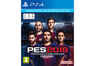 Pro Evolution Soccer 2018 - Legendary Edition EN PS4