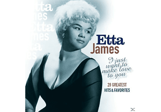 James Etta - I Just Want To Make Love - (CD)