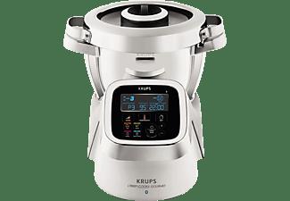 KRUPS HP6051 i-Prep&Cook XL Gourmet Küchenmaschine mit Kochfunktion ...