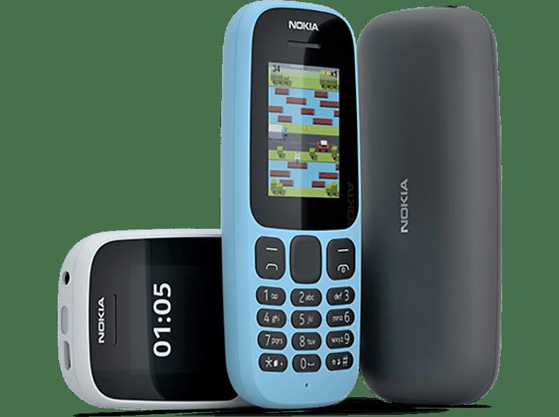 Nokia 105 (2017) fekete kártyafüggő mobiltelefon + Telekom Domino kártya
