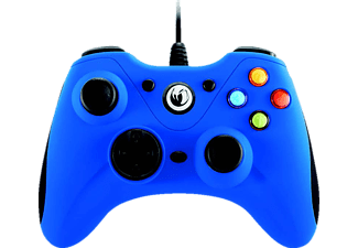 NACON GC-100XF Blue kabelgundener PC Controller