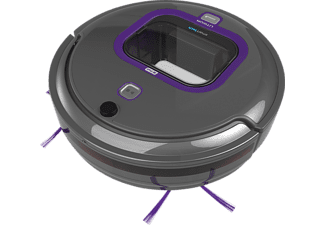BLACK+DECKER RVA 420 BP Smart Tech Pet Saugroboter, Titanium/Violett