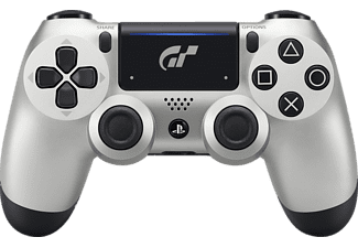 SONY DUALSHOCK4 Limited Edition GT Sport, Wireless-Controller, Silber