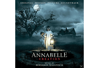 Benjamin Ost/wallfisch - Annabelle Creation-White Vinyl - (Vinyl)