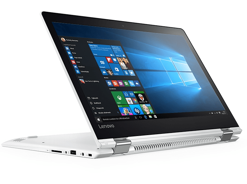 "LENOVO IdeaPad Yoga 510 fehér 2in1 eszköz 80S700G4HV(14"" FullHD IPS touch/Core i3/4GB/500GB HDD/Windows 10)"