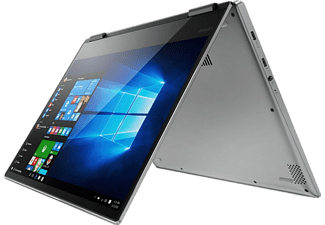 "LENOVO Yoga 720-13IKB ezüst 2in1 eszköz 80X600GEHV (13,3"" FHD IPS touch/Core i5/8GB/128GB SSD/Windows 10)"