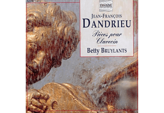 Betty Bruylants - Dandrieu:Cembalowerke - (CD)