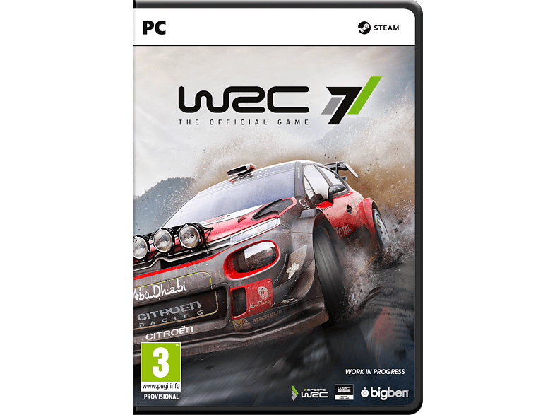 WRC 7 PC gaming games pc games