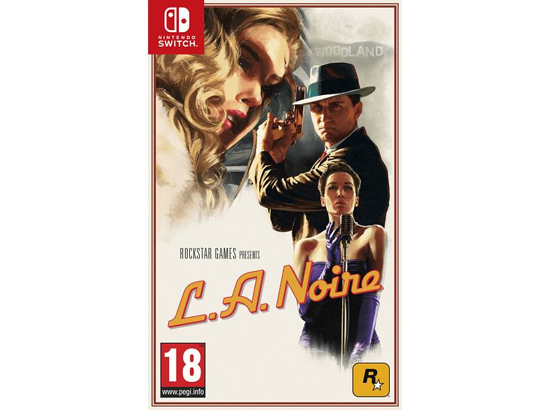 L.A. Noire Switch gaming games switch games