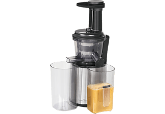 PROFI COOK PC-SJ 1141, Slow Juicer, Schwarz/Inox