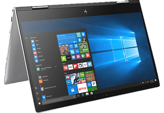 HP ENVY x360 - 15-bp131ng, Convertible mit 15.6 Zoll, 1 TB Speicher, 4 GB RAM, Core™ i5 Prozessor, Windows 10 Home, Silber