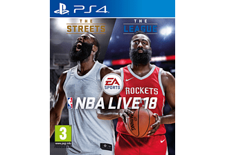 EA NBA Live 18 PS4