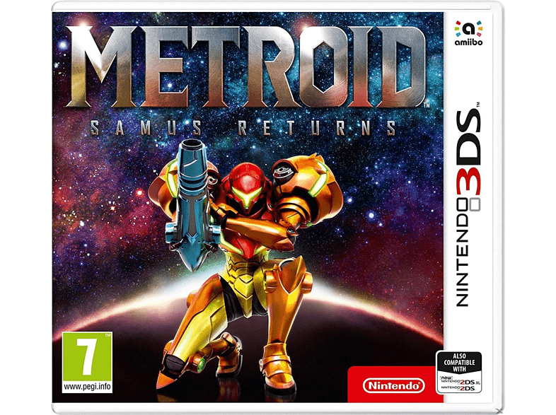 Metroid Samus Returns Nintendo 3DS gaming φορητές κονσόλες games 2ds  3ds