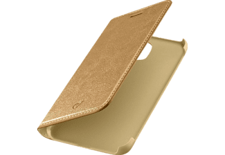 CELLULAR LINE Book Essential Bookcover Samsung Galaxy J5 (2017) Kunstleder Braun