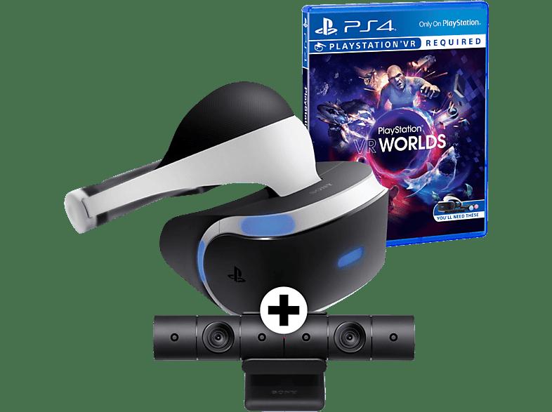 SONY PlayStation VR + Camera V2+ Worlds VR gaming απογείωσε την gaming εμπειρία αξεσουάρ ps4 smartphones   smartliving vr γ