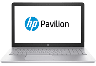 HP Pavilion 15-cc131ng, Notebook mit 15.6 Zoll Display, Core™ i5 Prozessor, 8 GB RAM, 1 TB HDD, 128 GB SSD, GeForce 940MX, Silber