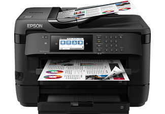 EPSON WorkForce WF-7720DTWF, Multifunktionsdrucker, Schwarz