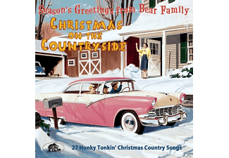 VARIOUS - Christmas On The Countryside-27 Honky Tonkin' - (CD)