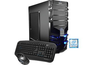 HYRICAN ALPHA 5452, Gaming PC mit Core™ i5 Prozessor, 16 GB RAM, 1 TB HDD, Geforce® GTX 1050, 2 GB GDDR5 Grafikspeicher