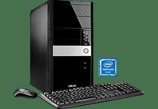HYRICAN GIGABYTE EDITION 4965, Desktop PC mit Pentium® Prozessor, 4 GB RAM, 1 TB HDD, HD Grafik 510