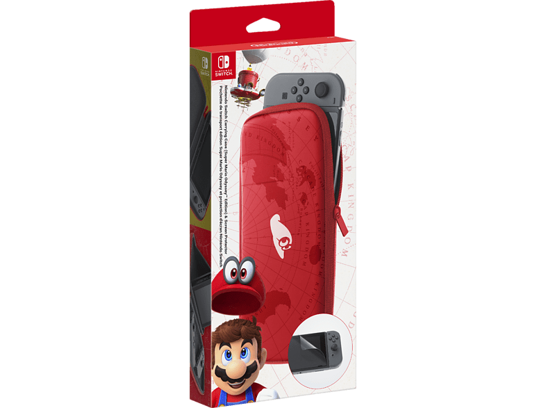 NINTENDO Switch Carrying Case Super Mario Odyssey Edition gaming απογείωσε την gaming εμπειρία αξεσουάρ switch